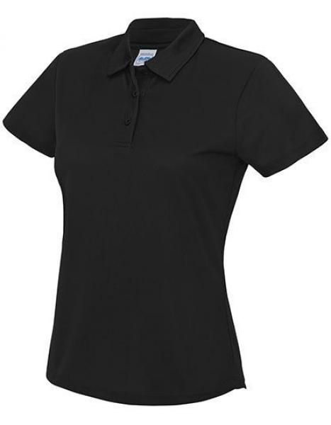 Polo trøje senior damer - Sort