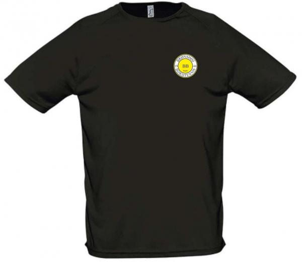 T shirt ungdom drenge/piger - Sort